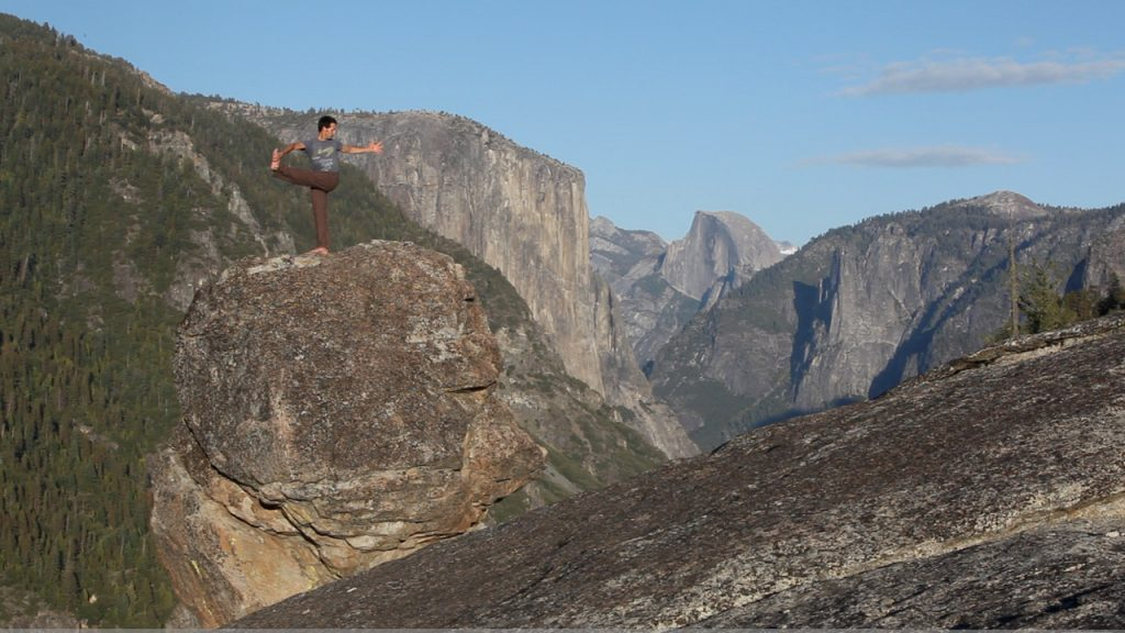 Arin Trook ~ Infinite WildYogi. Photo Credit: Josh Helling via Balanced Rock
